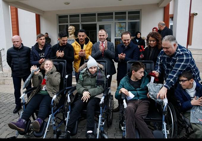 Trabzonspor'dan anlamlı destek
