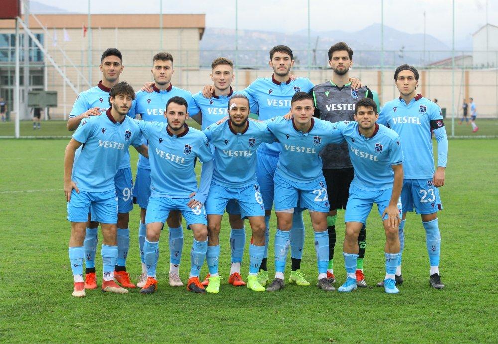 Trabzonspor'un gençleri kazandı