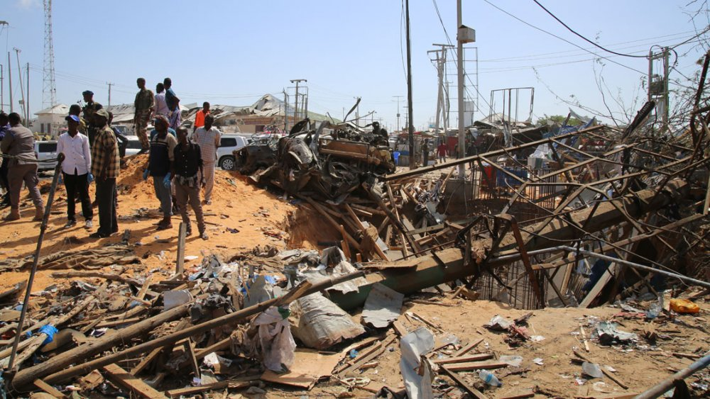 Somali'de bombalı saldırı: 61 kişi öldü