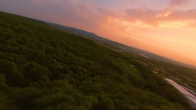 Yarış dronu ile Türkiye'yi tanıttı - Trabzon'dan eşsiz görüntüler...