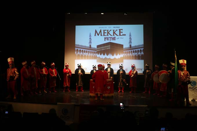 Trabzon'da Mekke'nin Fethi kutlandı