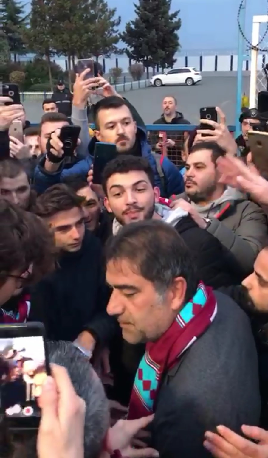 Ünal Karaman Trabzon'dan ayrıldı!