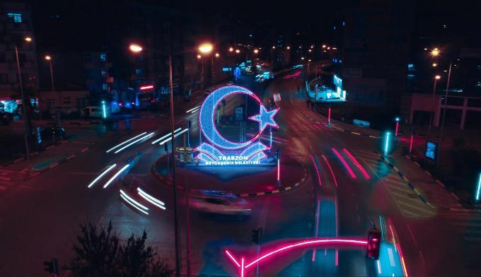 Trabzon yeni yıla ışıl ışıl girecek