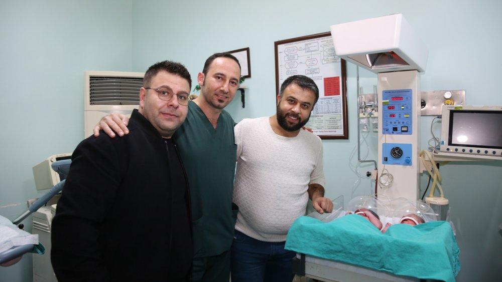 Türkiye'de yeni yılın ilk bebekleri dünyaya geldi