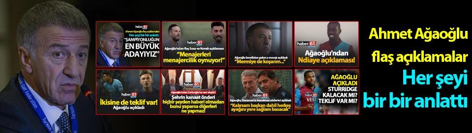 Abdülkadir Ömür'de son durum - Başkan Ağaoğlu açıkladı