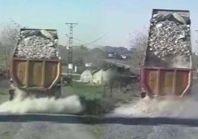 Tuzla'da kaçak döküm dehşeti!