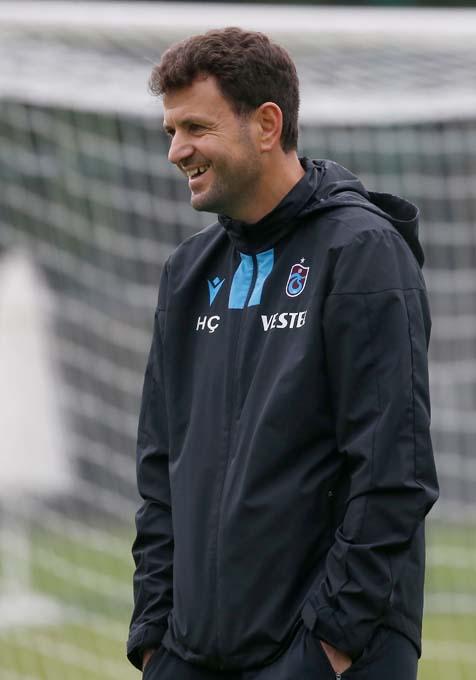 Trabzonspor'da yüzler gülüyor