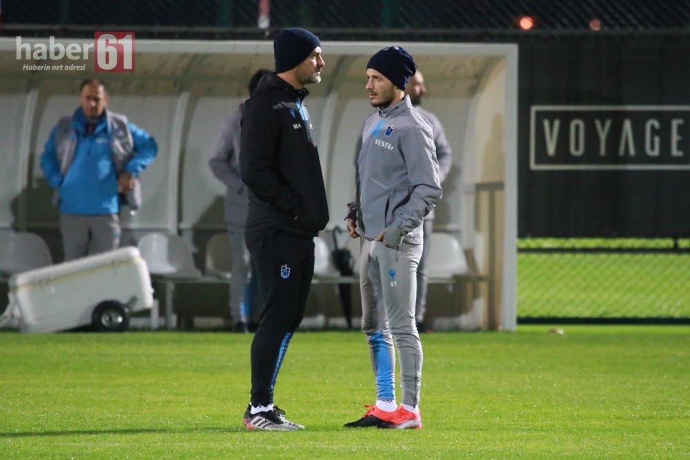 Trabzonspor'da antrenman öncesi 3 görüşme