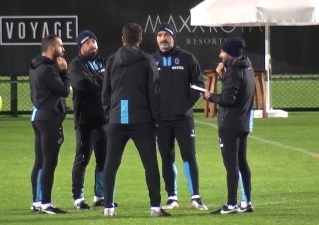 Trabzonspor'da teknik heyet toplandı