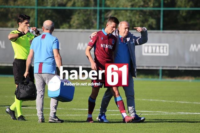 Trabzonspor'da sakatlık şoku – Devam edemedi