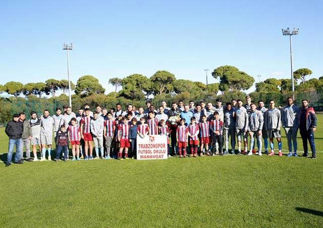 Trabzonspor antrenmanına sürpriz ziyaret