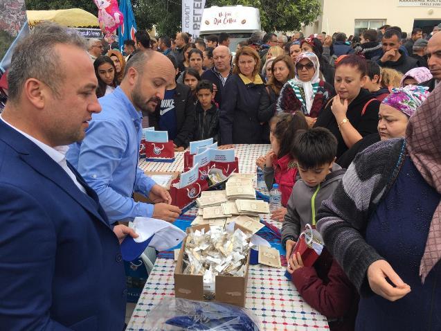 Kıbrıs'ta Trabzon hamsisi 1 saatte bitti