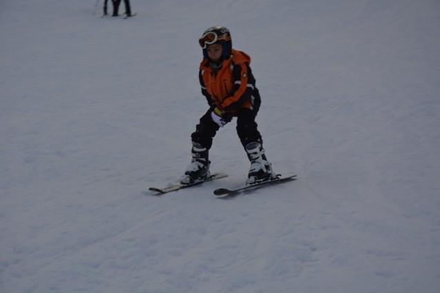 Artvin'deki kayak merkezi doldu taştı