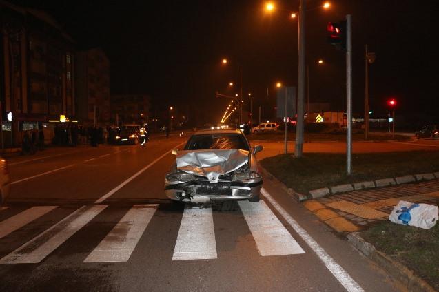 Karadeniz Sahil Yolunda kaza - 3 Yaralı