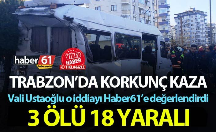 Akıllanmadık! Trabzon'da 3 kişinin öldüğü kaza sonrası yine aynı görüntüler!
