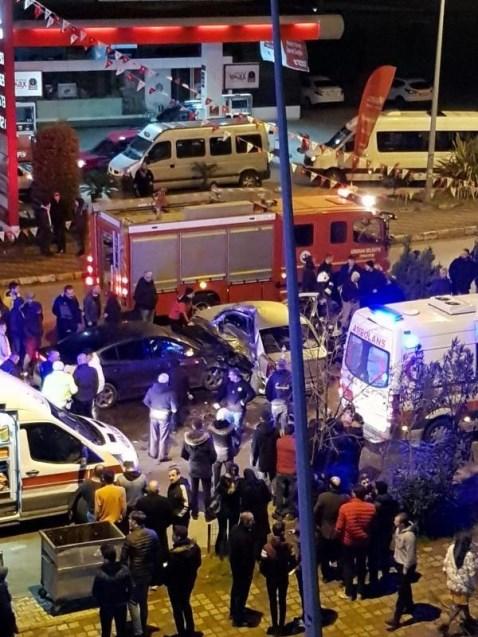 Giresun'da kaza: 1 ölü, 3 yaralı