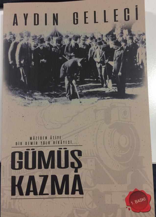 Trabzon'un Demiryolu hikayesi kitap oldu