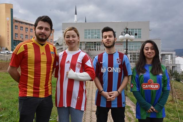 Trabzon'da öğrenciler Fairplay İçin Çaldılar