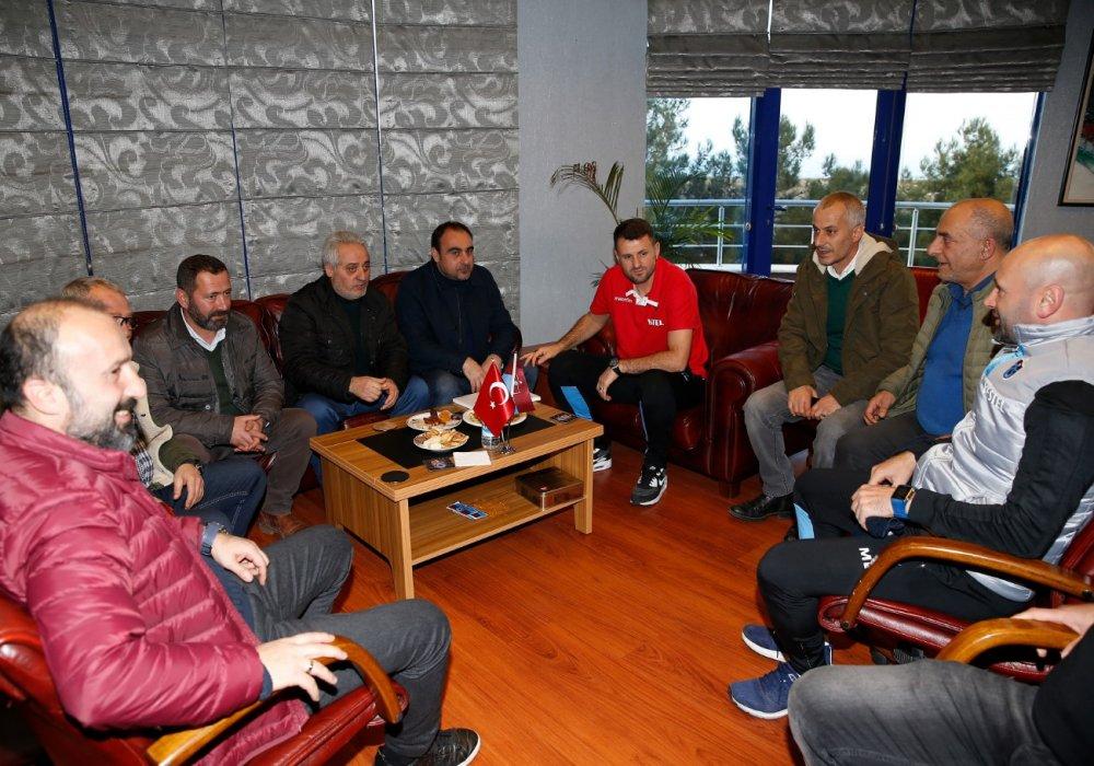 TÜFAD'dan Hüseyin Çimşir'e ziyaret