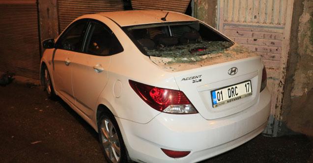 Otomobilinde seyir halinde silahlı saldırıa uğradı