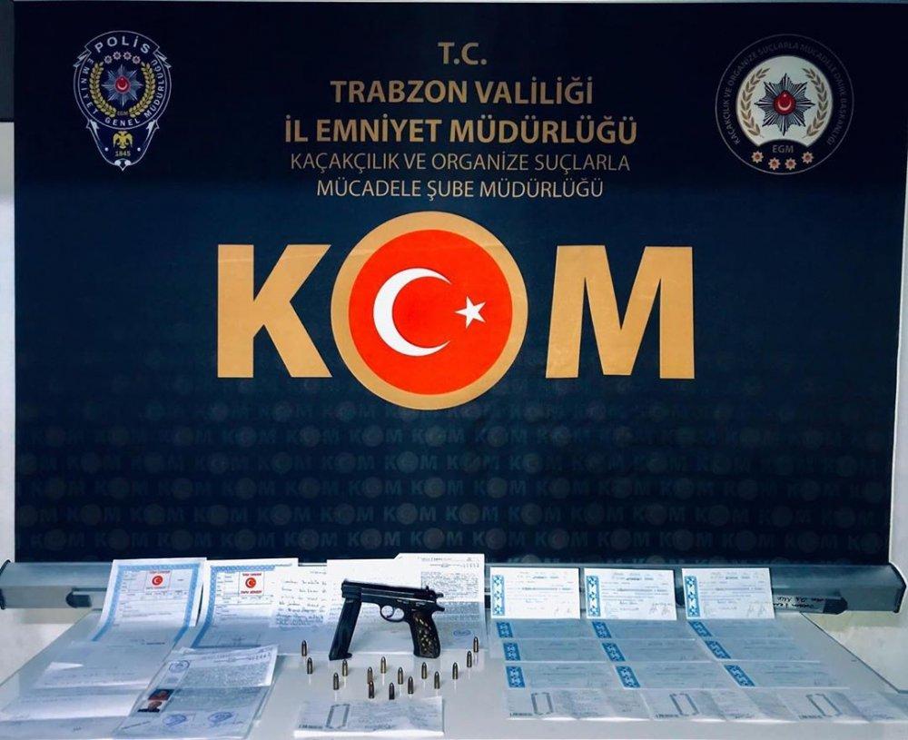 Trabzon'da Tefecilik operasyonu - 872 Bin TL'lik senet