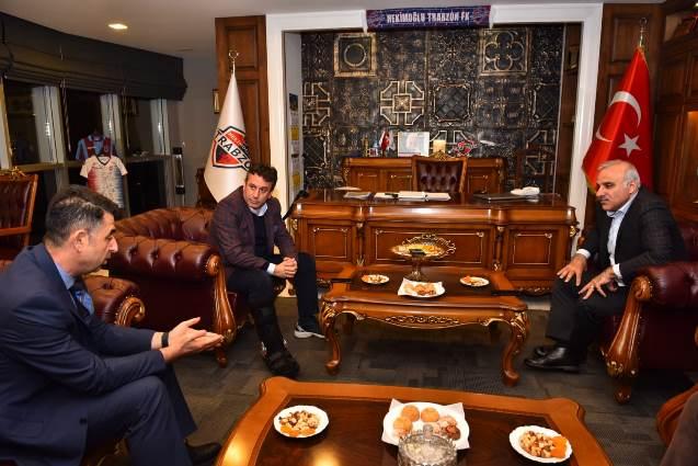 Zorluoğlu'ndan Hekimoğlu'na ziyaret