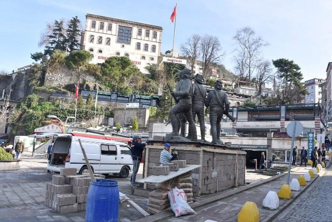 Giresun'daki anıt tartışması böyle son buldu