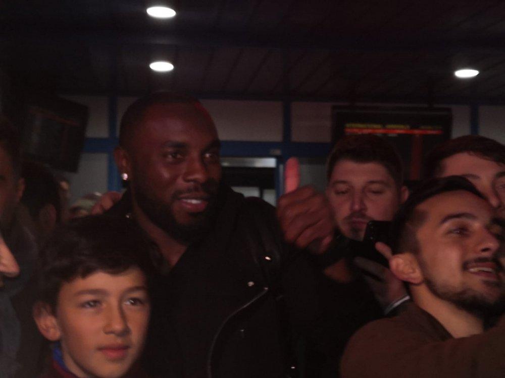Manoel Messias Trabzon'a geldi