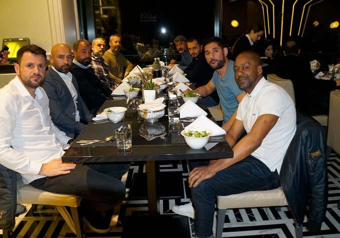 Trabzonspor yemekte buluştu