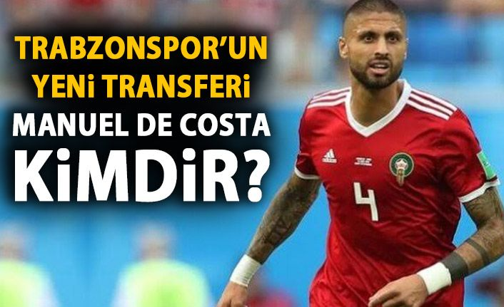 Trabzonspor'a bir transfer daha! Trabzon'a geldi