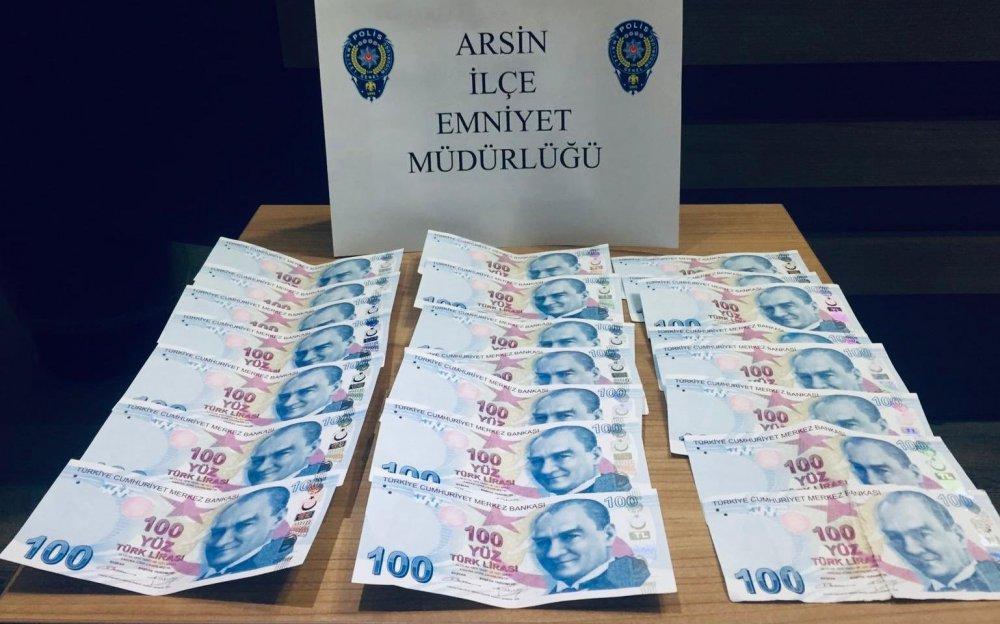 Trabzon'da uyanık büfeciden kaçamadılar
