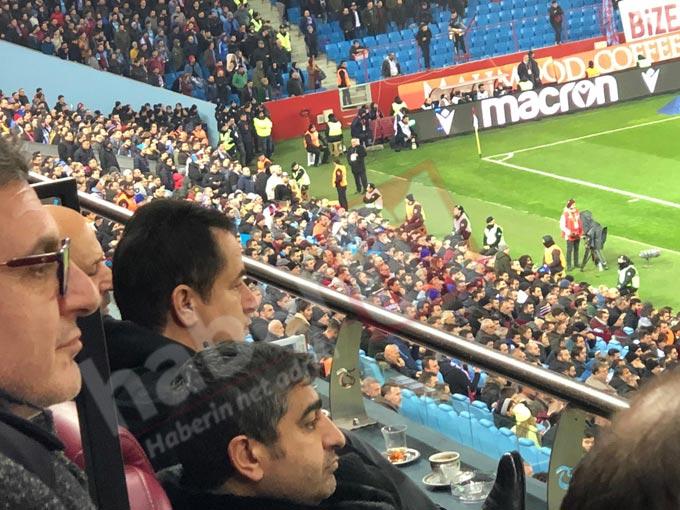 Acun Ilıcalı Trabzonspor Fenerbahçe maçında