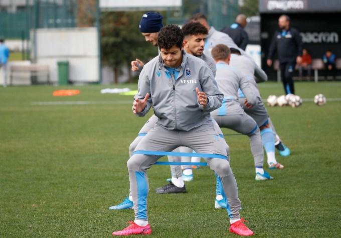 Trabzonspor ile ilk antrenmanlarına açıktılar