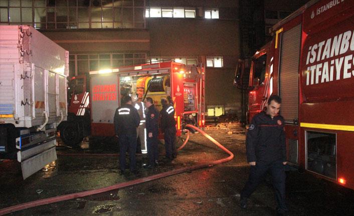Bayrampaşa'da fabrikanın kazanı patladı