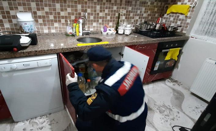Bursa jandarmasından mazot hırsızlarına operasyon