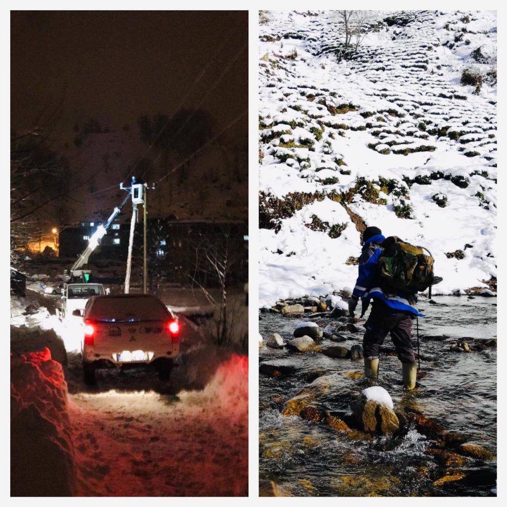 Bunlar dağcı değil! Yaptıkları mücadelenin fotoğraflarını paylaştılar