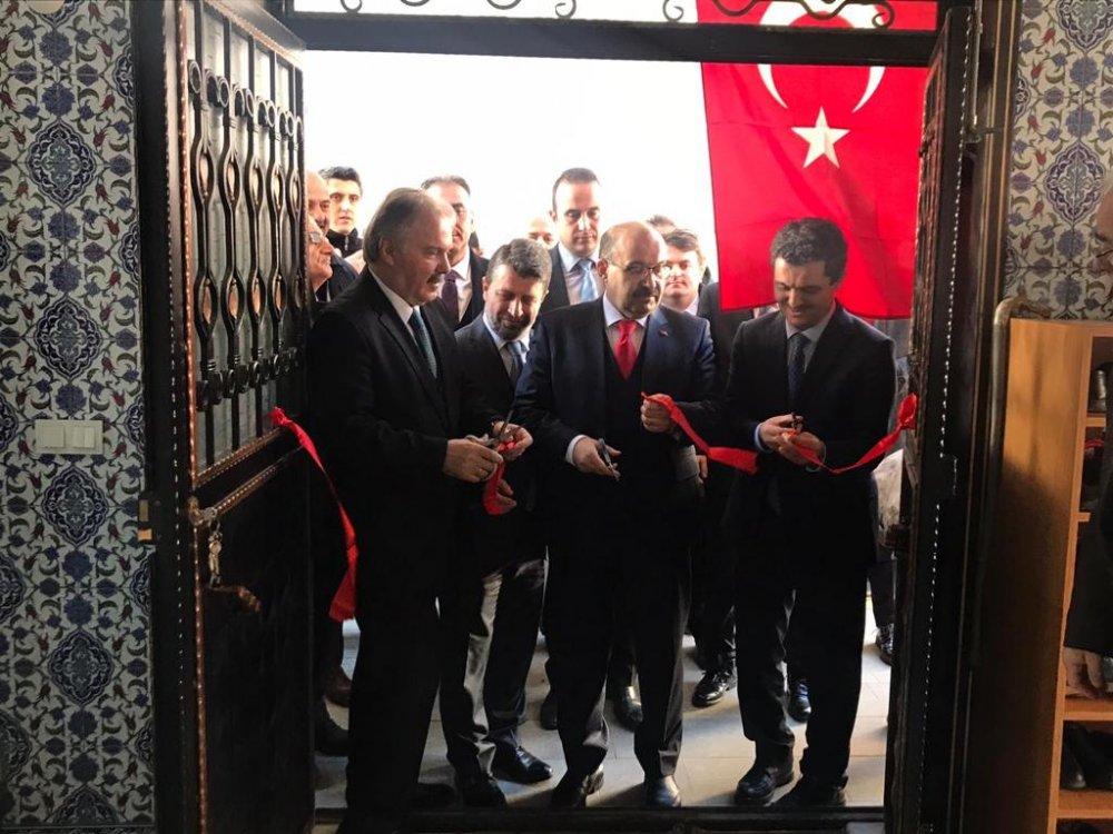 Sürmene Hacı Hamza Üstün Cami ibadete açıldı