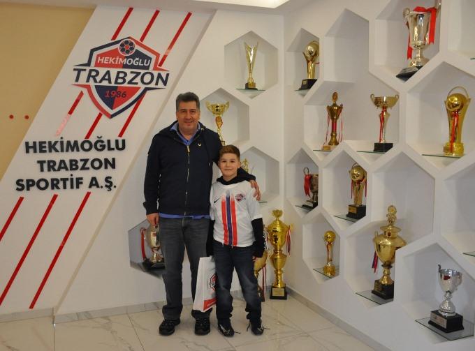 Hekimoğlu Trabzon'a özel ziyaret