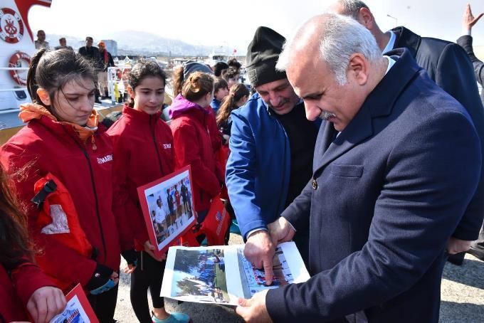 Başkan Zorluoğlu startı verdi