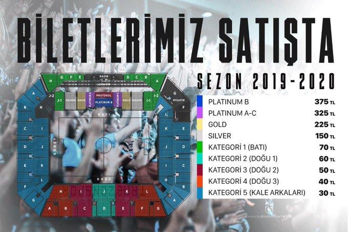 Trabzonspor Çaykur Rizespor maçı biletleri satışa çıktı