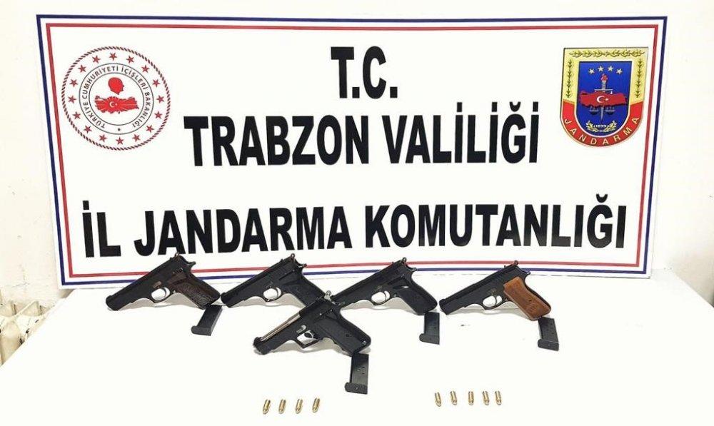 Trabzon'da 3 ilçede Silah Kaçakçılığı