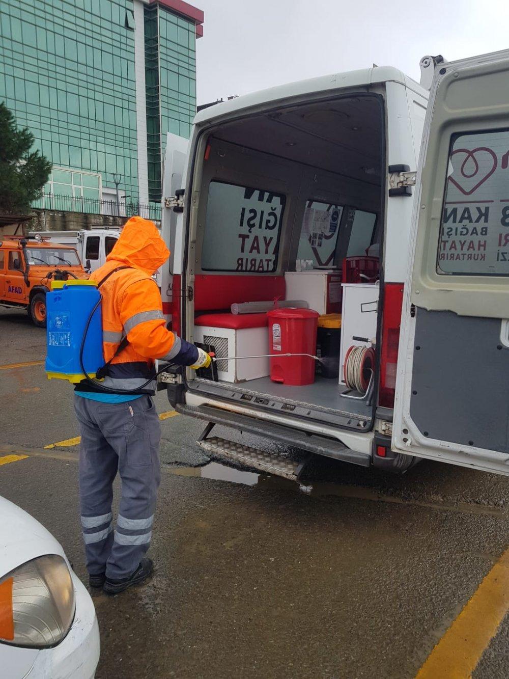 Trabzon'da seferberlik!  Sağlık çalışanları ve emniyet görevlileri unutulmadı