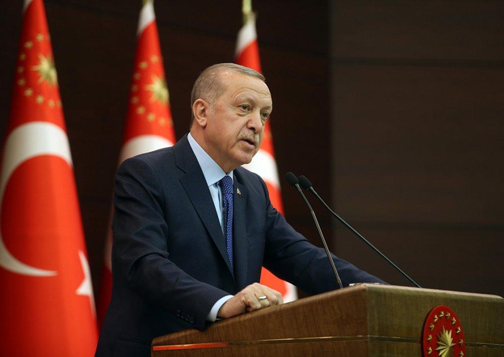 """Cumhurbaşkanı Erdoğan Ulusa Seslendi: """"Mecbur kalmadıkça evden çıkmayın"""""""