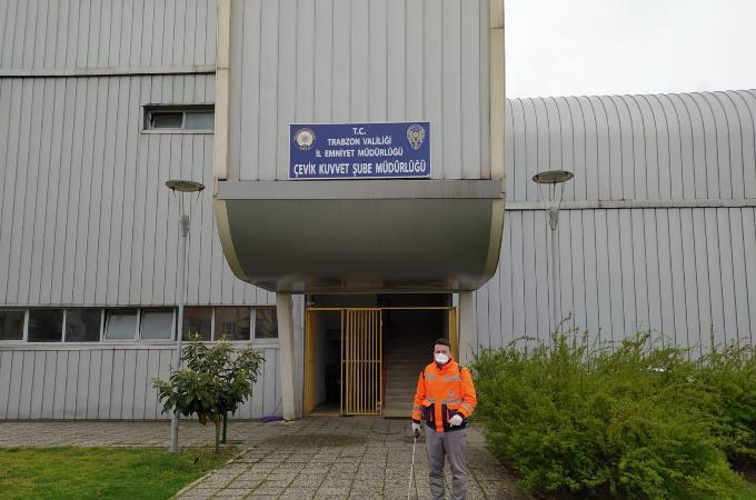 Trabzon'da koronavirüs seferberliği sürüyor