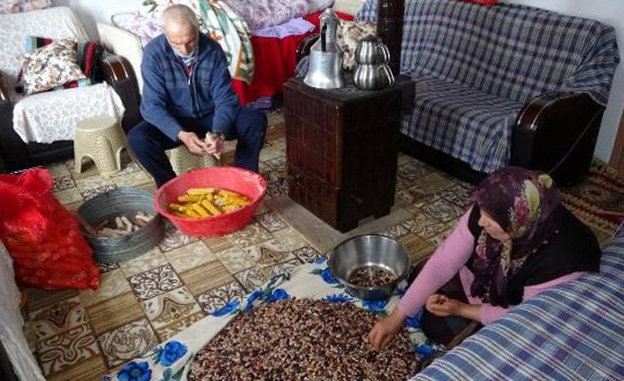 Trabzon'da koronavirüs önlemi köy!