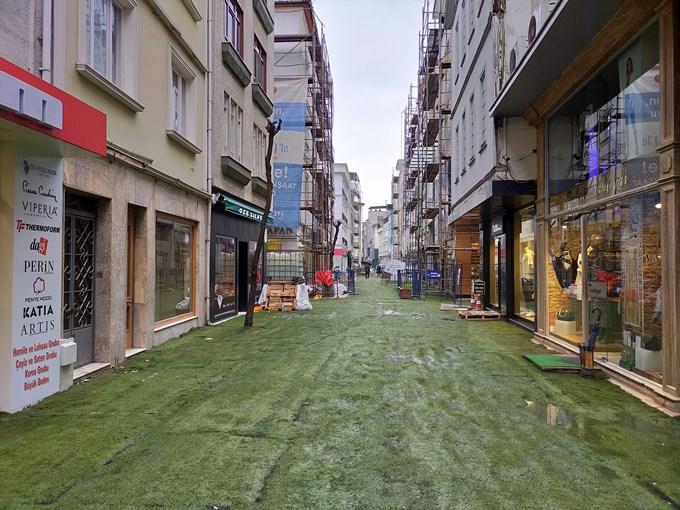 Ordu sokaklarında 'korona' sessizliği