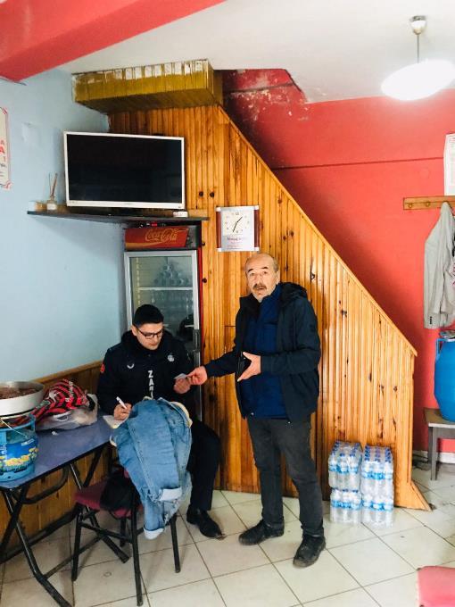 Trabzon'da yasağa uymadılar men edildiler