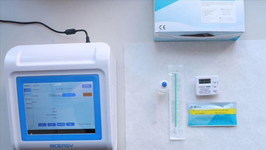 Bakanlık uygulamayı başlattı! Koronavirüs testi 15 dakikada çıkacak