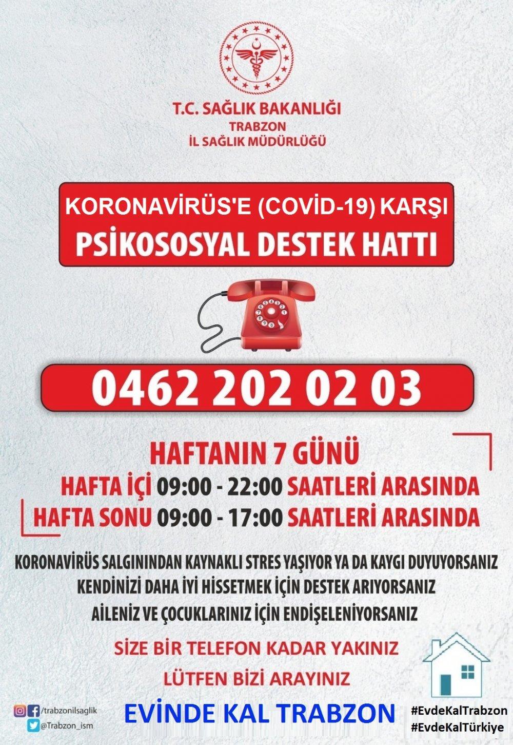 Trabzon'da hizmete başladı! Bu numarayı arayabilirsiniz