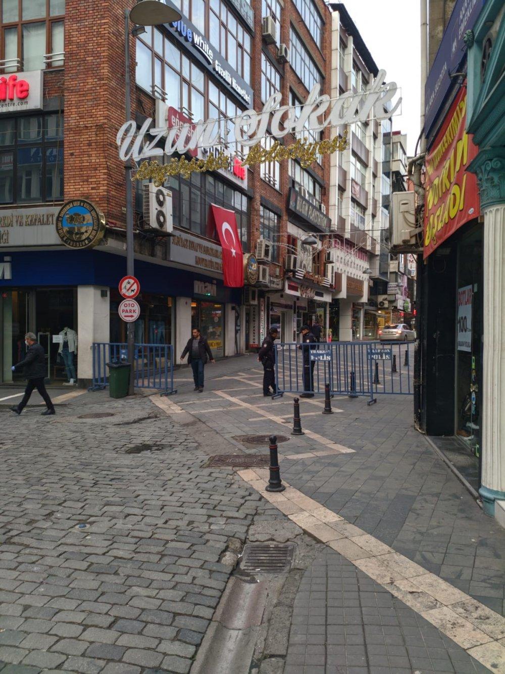 Bir koronavirüs önlemi daha! Trabzon'un merkezi kapatıldı
